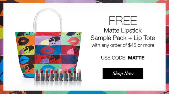 FREE Matte Lipstick Samples  Lip Tote